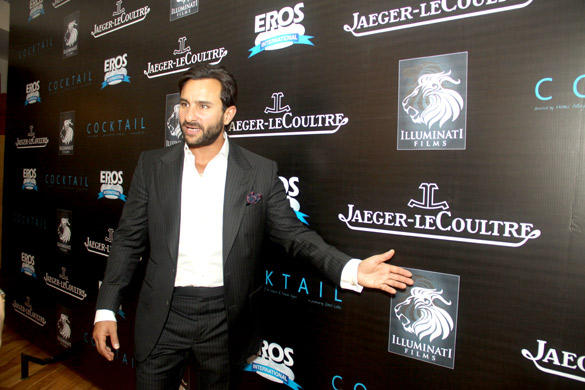 Saif Ali Khan at Imperial Hotel To Promote Their Upcoming Movie Cocktail