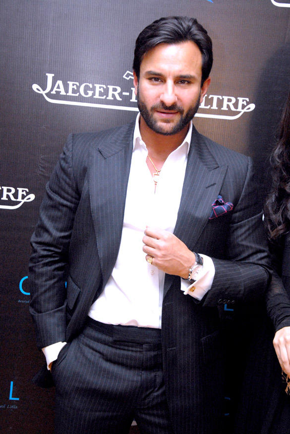 Saif Ali Khan Stunning Pic at Imperial Hotel