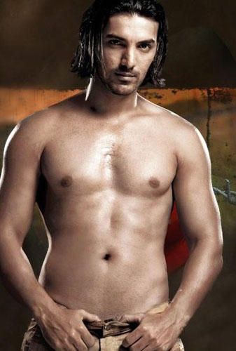 John Abraham Shirtless Sexy Photo , Bollywood Hunk John Abraham Latest ...