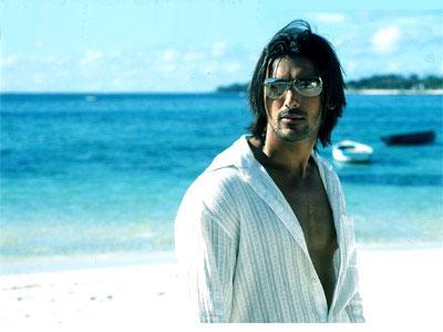 John Abraham Stylist Look Photo Shoot On The Beach