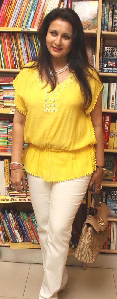 Poonam In Yellow Shirt  At Bhavikk's Book Launch Party