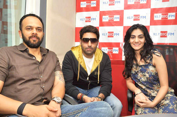 Abhishek,Rohit And RJ Yamini  At 98.7 BIG FM