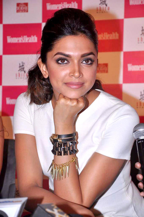 Deepika Nice Look At Launches Double Issue of Women's Health Magazine