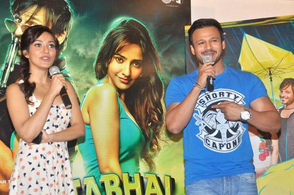 Neha And Vivek Press Meet At Jayanta Bhai Ki Luv Story Promo Launch