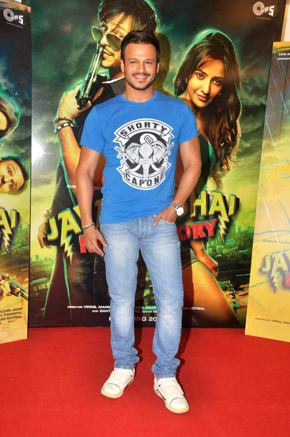 Vivek Oberoi At Jayanta Bhai Ki Luv Story Promo Launch