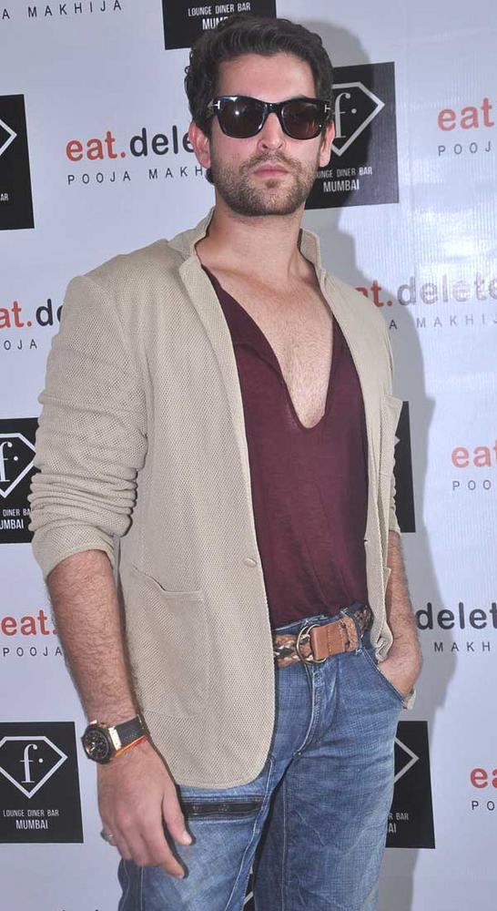 Neil At F Lounge and Diner Bar For Launching Pooja Book Eat.Delete
