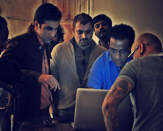 Ranbir Kapoor Barfi On Location Photo
