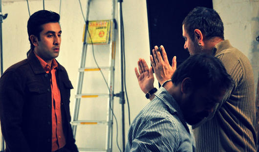 Ranbir Kapoor Barfi Movie Practice Still