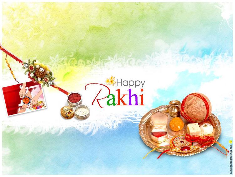 Raksha Bandhan Aarthi Pooja Thali Pic