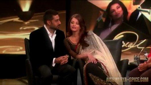 Abhi and Aish at A Show