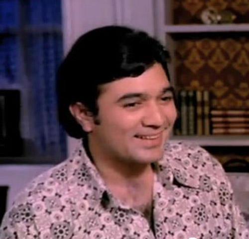 Rajesh Khanna Sweet Smile Pic