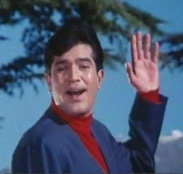 Rajesh in Classic Romantic Song Kora Kagaz Tha In Aradhana Movie