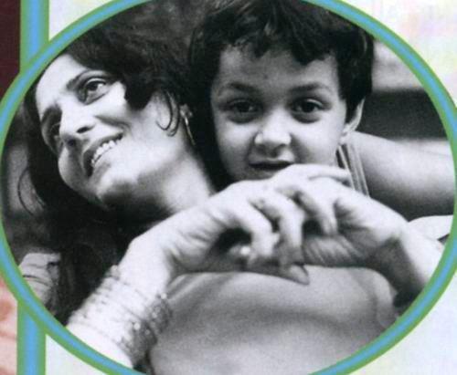 Bobby Deol Cute Childhood Photo