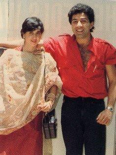 Sunny Deol Sweet Still with wife Pooja Deol