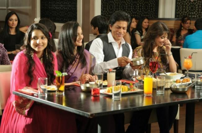 Shahrukh Khan Visits Chack89 Restaurant London