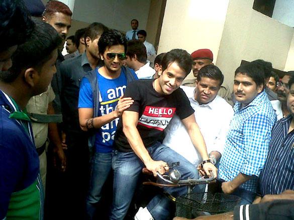 Super Kool Boys Promote Their Upcoming Movie In Patna