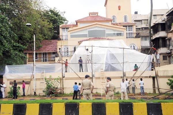Aashirwad Prepares for Funeral