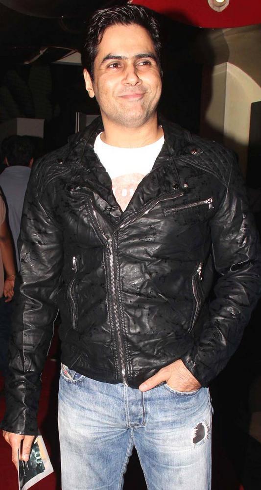 Aman Verma Sweet Smile Pic at The Dark Knight Rises Screening