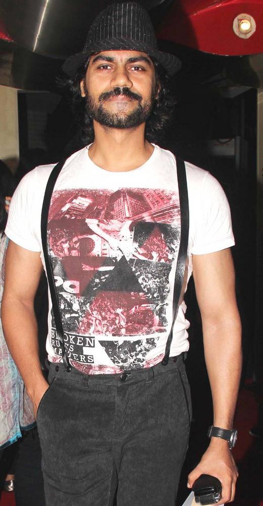 Gaurav Chopra Attend The Dark Knight Rises Screening