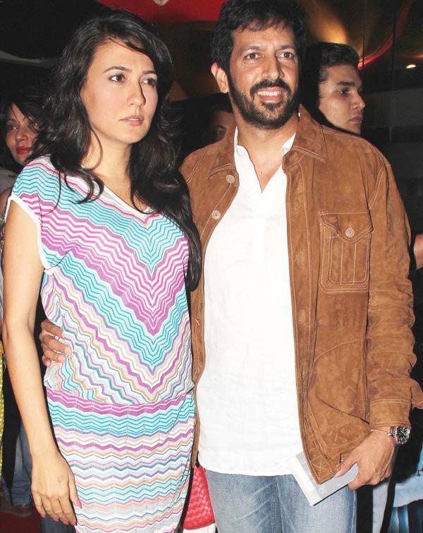 Mini Mathur and Hubby Kabir Khan at The Dark Knight Rises Screening