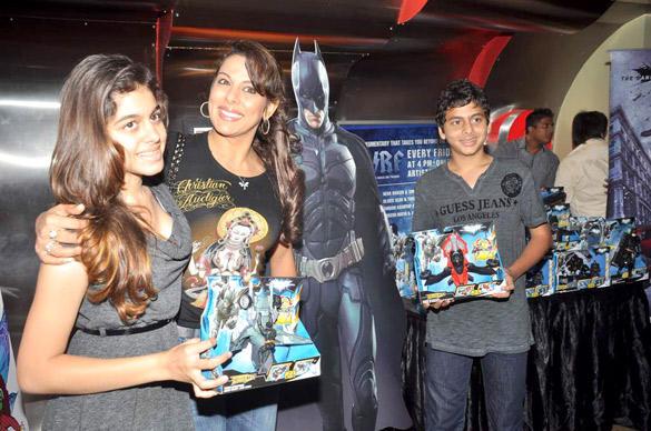 Pooja Bedi at The Dark Knight Rises Screening