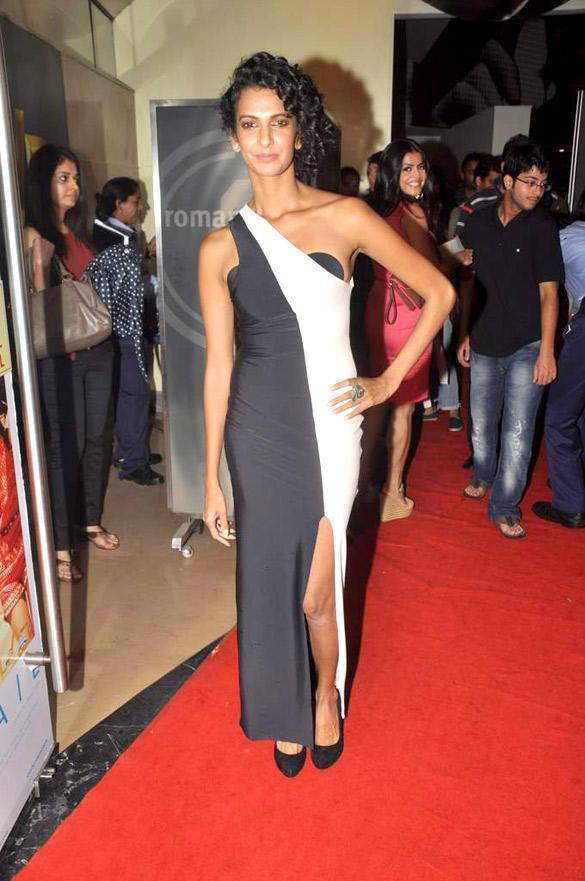 Poorna Jagannathan Attend The Dark Knight Rises Screening