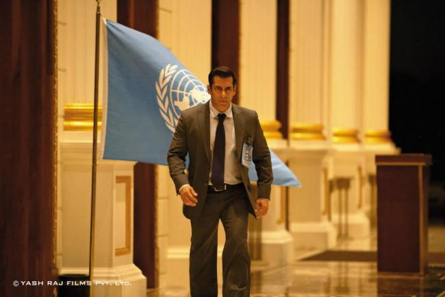 Handsomely Salman Khan A Still From Ek Tha Tiger