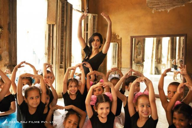 Katrina Kaif Dancing Photo In Ek Tha Tiger