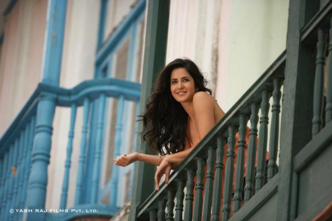 Katrina Kaif On Romantic Mode In Ek Tha Tiger