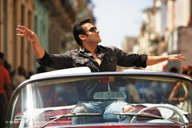 Most Awaited Salman Khan A Still From Ek Tha Tiger