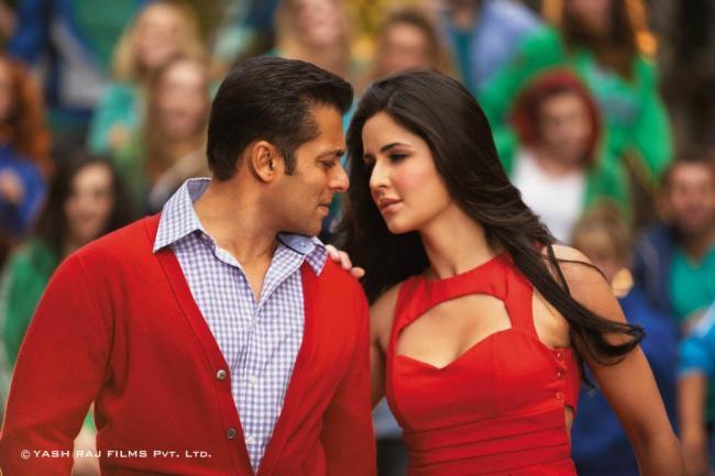 Salman and Katrina Romance Still In Ek Tha Tiger