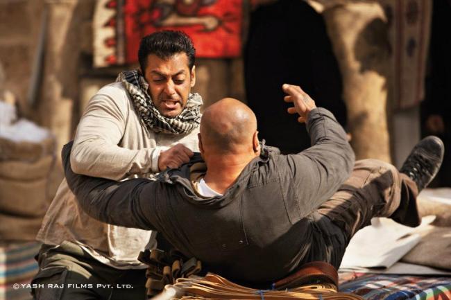 Salman Khan Fight Still In Ek Tha Tiger