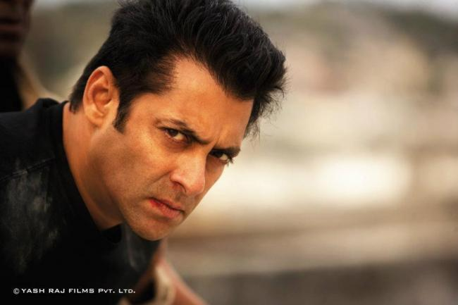 Salman Khan Latest Angry Look In Ek Tha Tiger