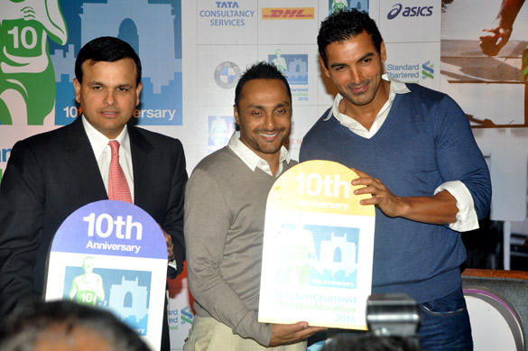 John and Rahul Launches SCMM 2013 at Hotel Trident