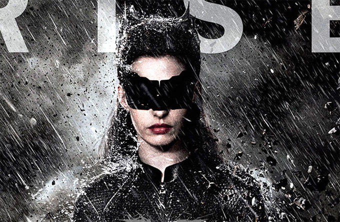 Anne Hathaway as Selina Kyle The Cat Woman In The Dark Knight Rises