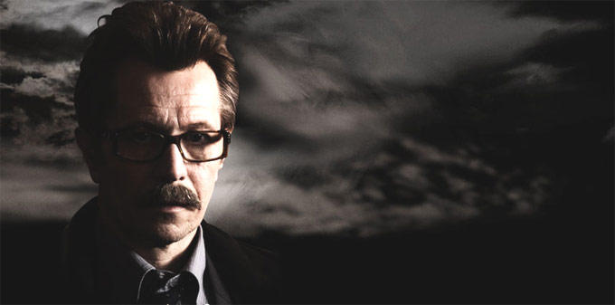 Gary Oldman as Commissioner James Gordon In The Dark Knight Rises