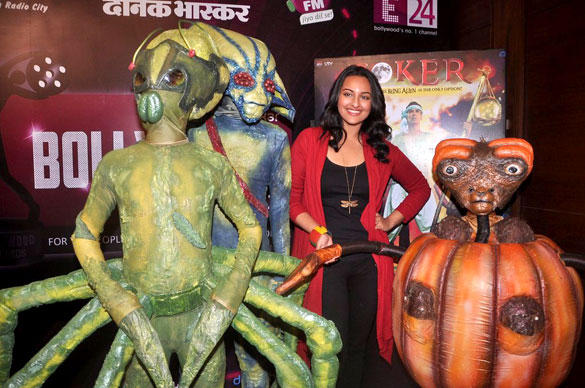 Sonakshi Sinha Promote Her Upcoming Movie Joker with Alliance