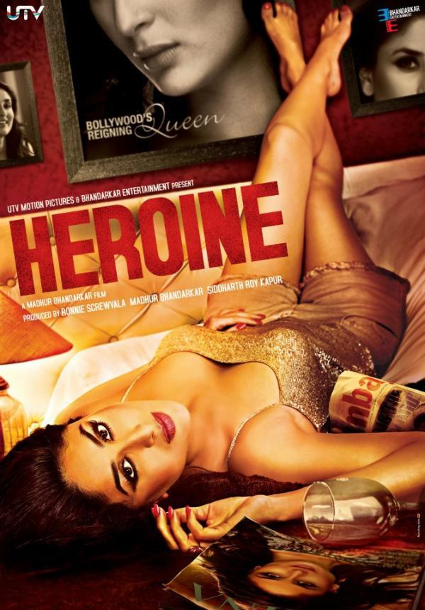 Kareena Kapoor's Heroine Movie Sizzling First Look Poster