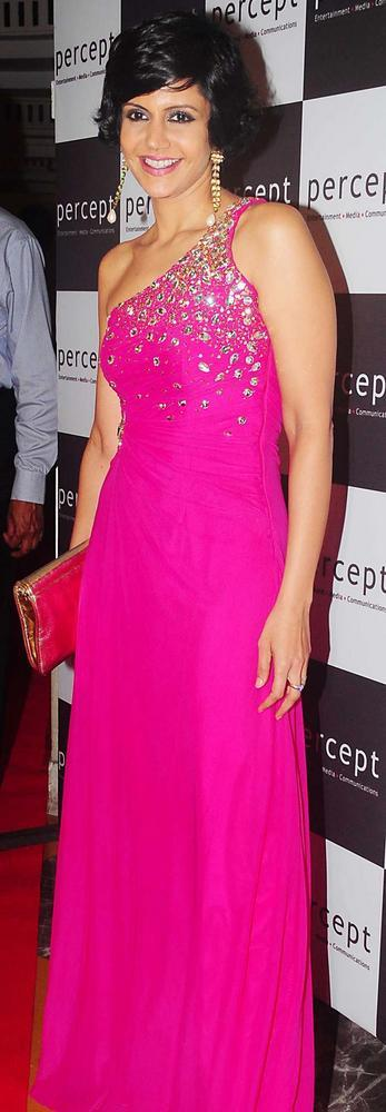 Mandira Bedi Beauty Awesome Still at Percept Excellence Awards