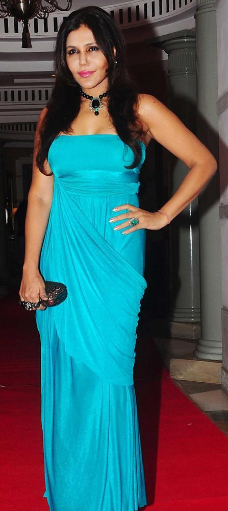 Nisha Jamwal at Percept Excellence Awards 2012