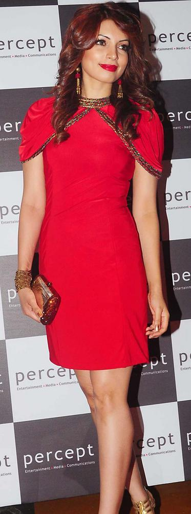 Shama Sikander Shiny Still at Percept Excellence Awards 2012