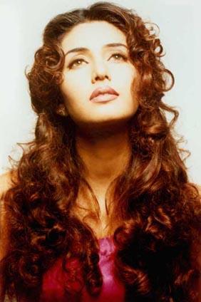 Deepti Bhatnagar Curly Hair Shiny Sexy Still