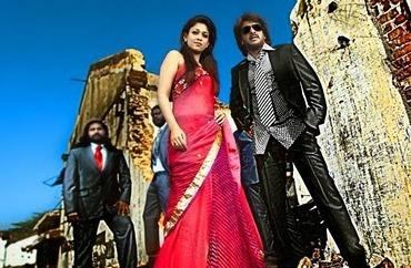 Upendra and Nayanthara In Super Movie Stylist Pic