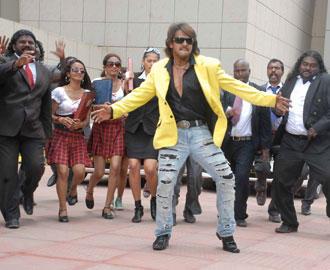 Upendra Dancing Pic