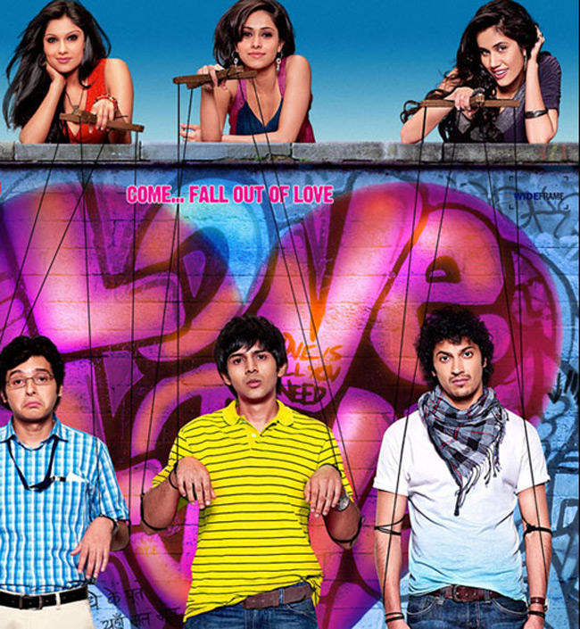 Three Bachelors,Who Fall in Love But Realise That They Are Only Being Used By The Girls In Pyaar Ka Punchnaama