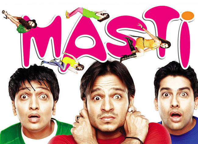 Vivek,Aftab and Riteish Who Are Bored Their Wives and Are Looking For Love Outside Marriage In Masti
