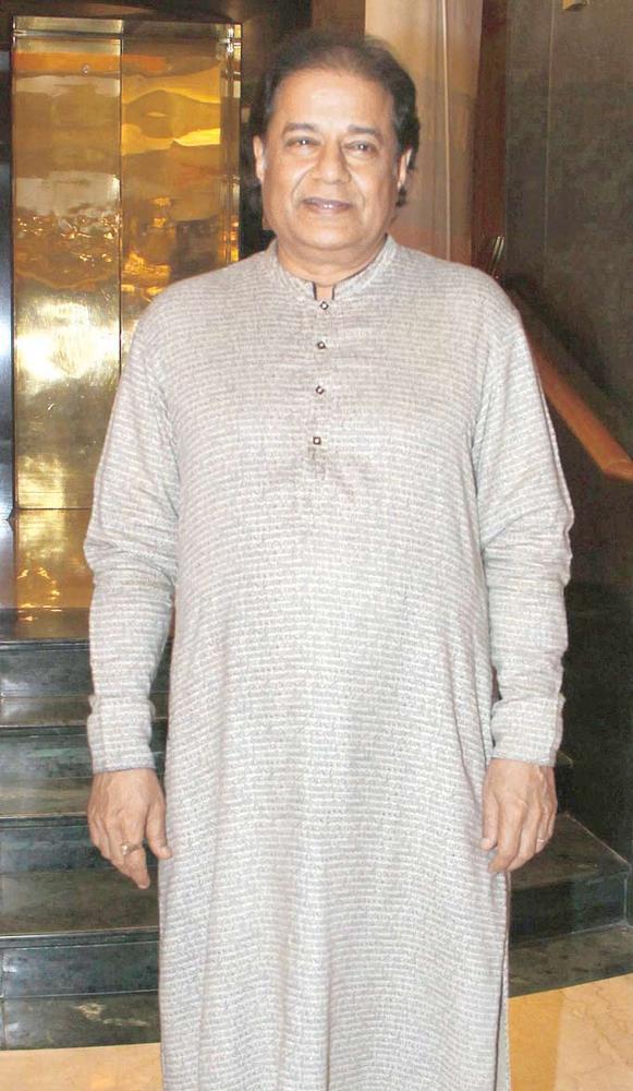 Anup Jalota At A Ghazal Event