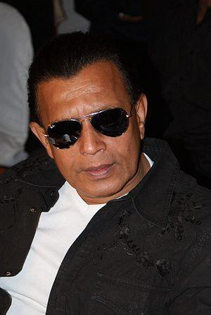 Mithun Chakraborty Black Goggles Hot Look Pic