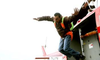 Mithun Chakraborty Jumping Still