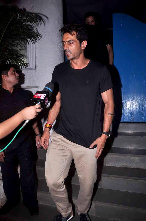 Arjun Rampal at Cocktail Movie Success Bash